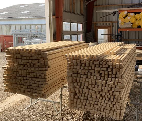 Brandmaling af træ/stål